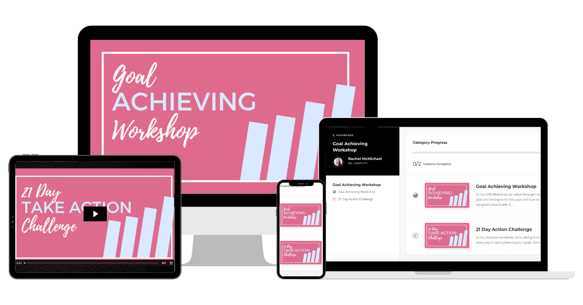 Goal Achieving Workshop Mockup