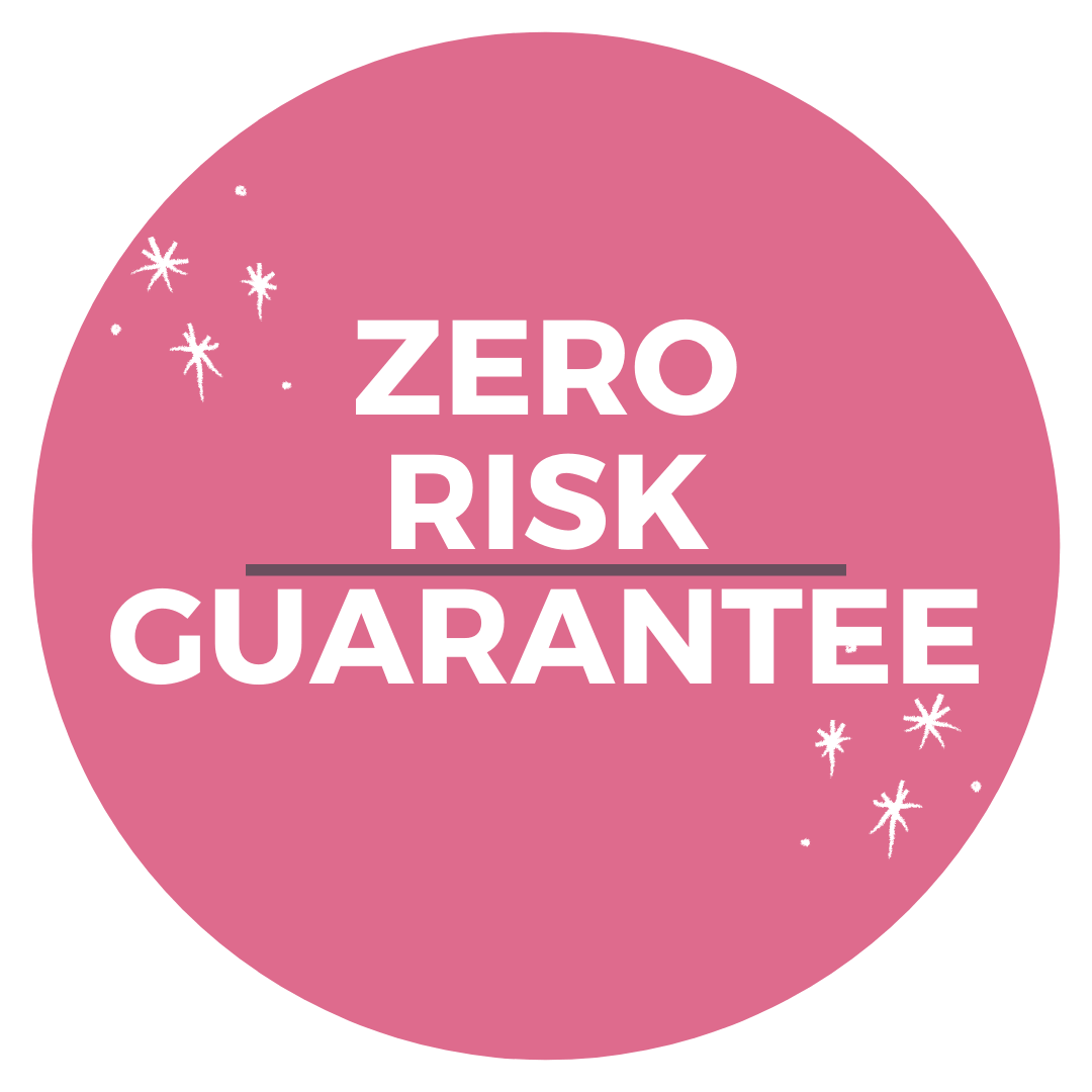 Zero Risk Guarantee Badge