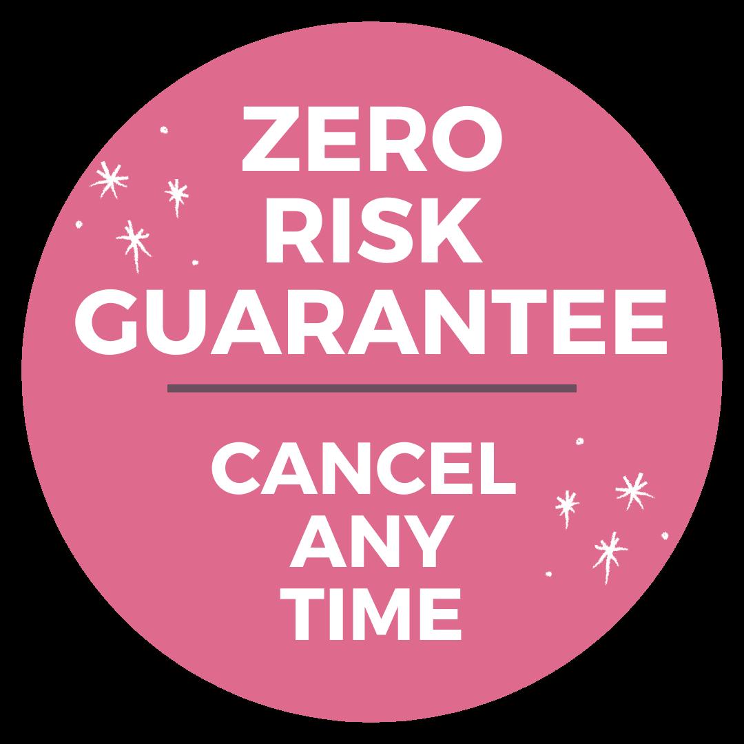 Zero Risk Guarantee badge